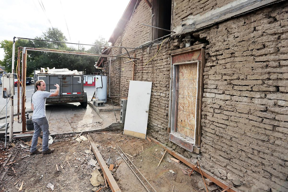 Napa\'s oldest building undergoes renovation | Local News ...