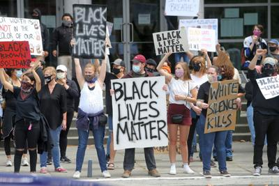 Black Lives Matter protest in Napa