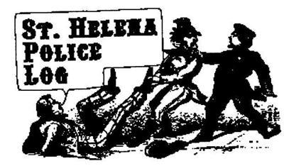 St. Helena Police Logs