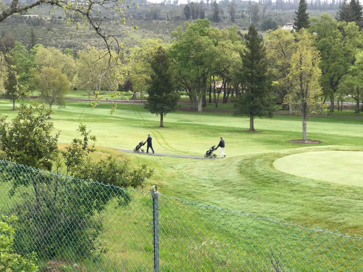 Amid Public Pressure Silverado Closes Its Two Championship Golf Courses Local News Napavalleyregister Com