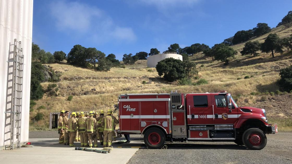 Inside Cal Fire's seasonal fire academy: stifling flames and survival
