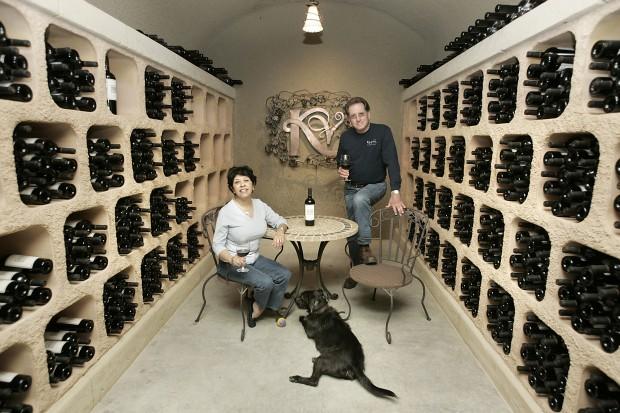 Olga and Bill Keever of Keever Vineyards