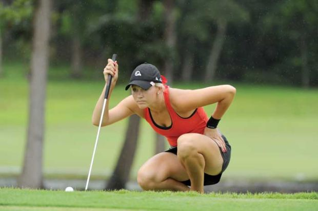 Emily Talley ties for third in Symetra Tour golf event ...