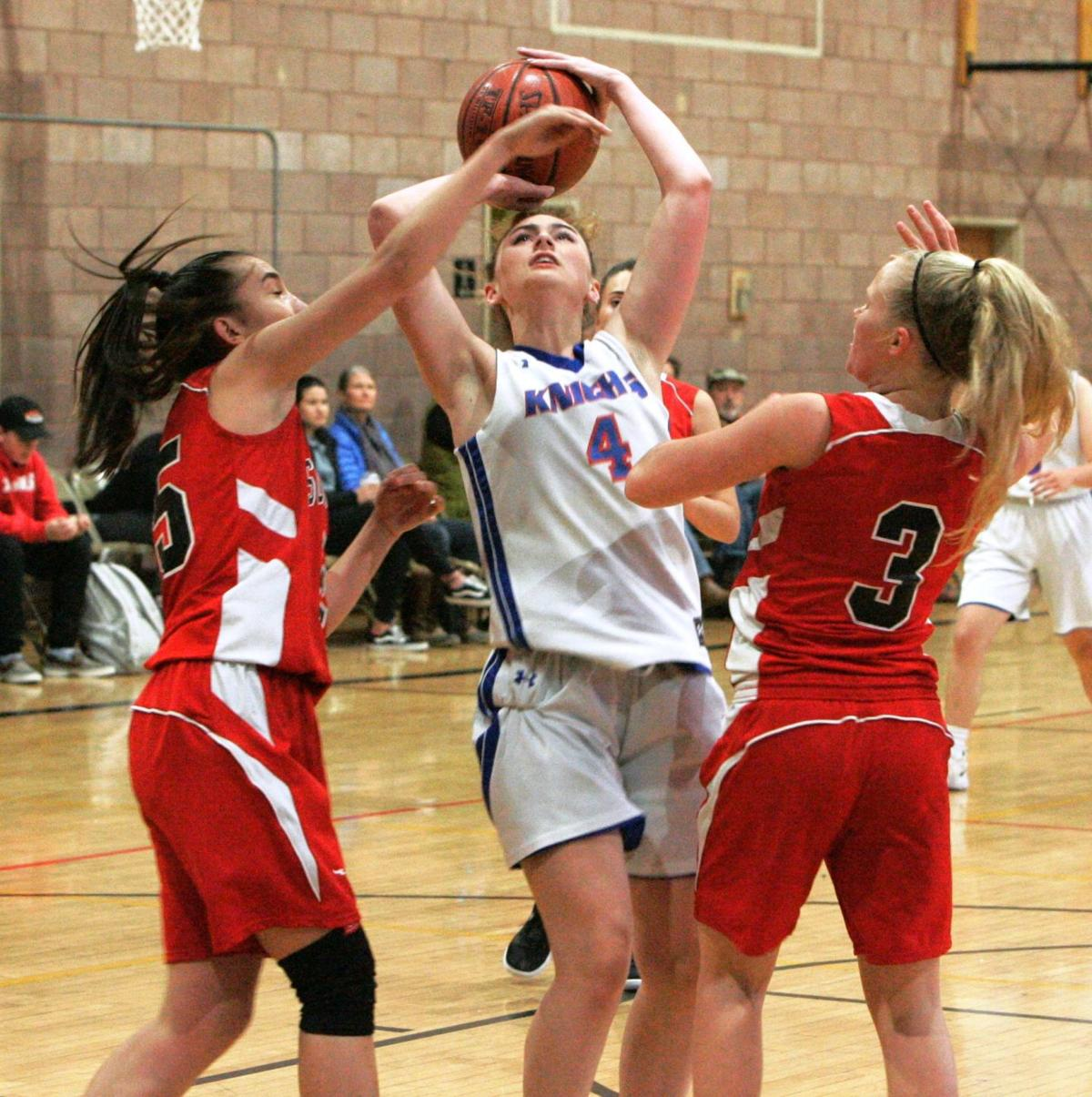 Napa Christian girls basketball