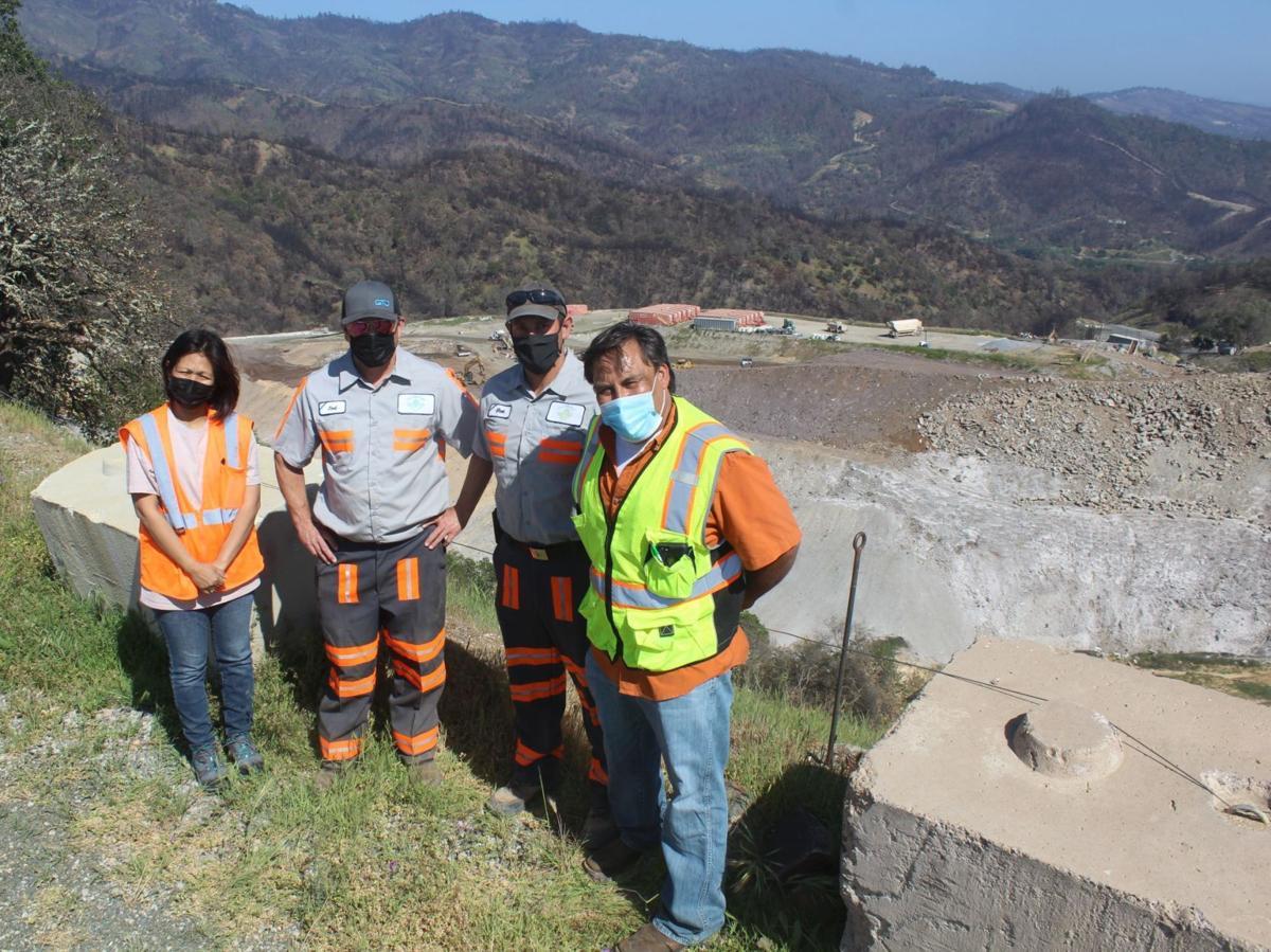 Shiela Cruz, Joel Berry, Eliot Perez and Kano Galindo at Clover Flat