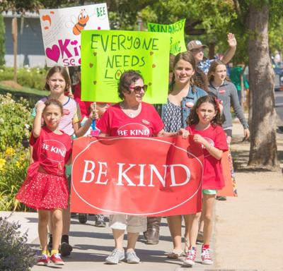 400 turn out for 'Be Kind Walk' in Yountville