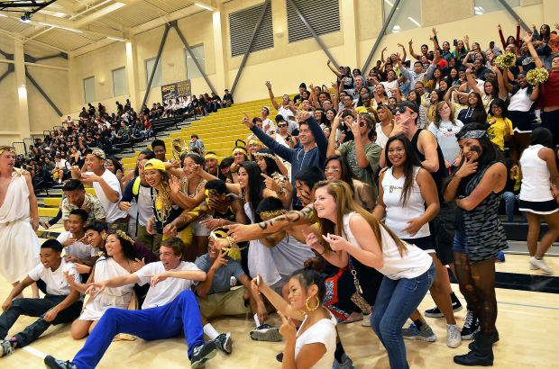 American Canyon's first Homecoming
