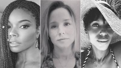 Why women are posting black-and-white photos with the caption 'challenge accepted'