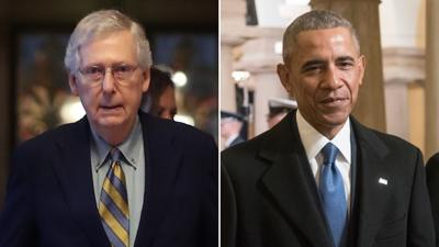 Mitch McConnell: Obama 'should have kept his mouth shut' instead of criticizing US coronavirus response