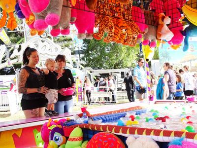Napa Valley Expo carnival games