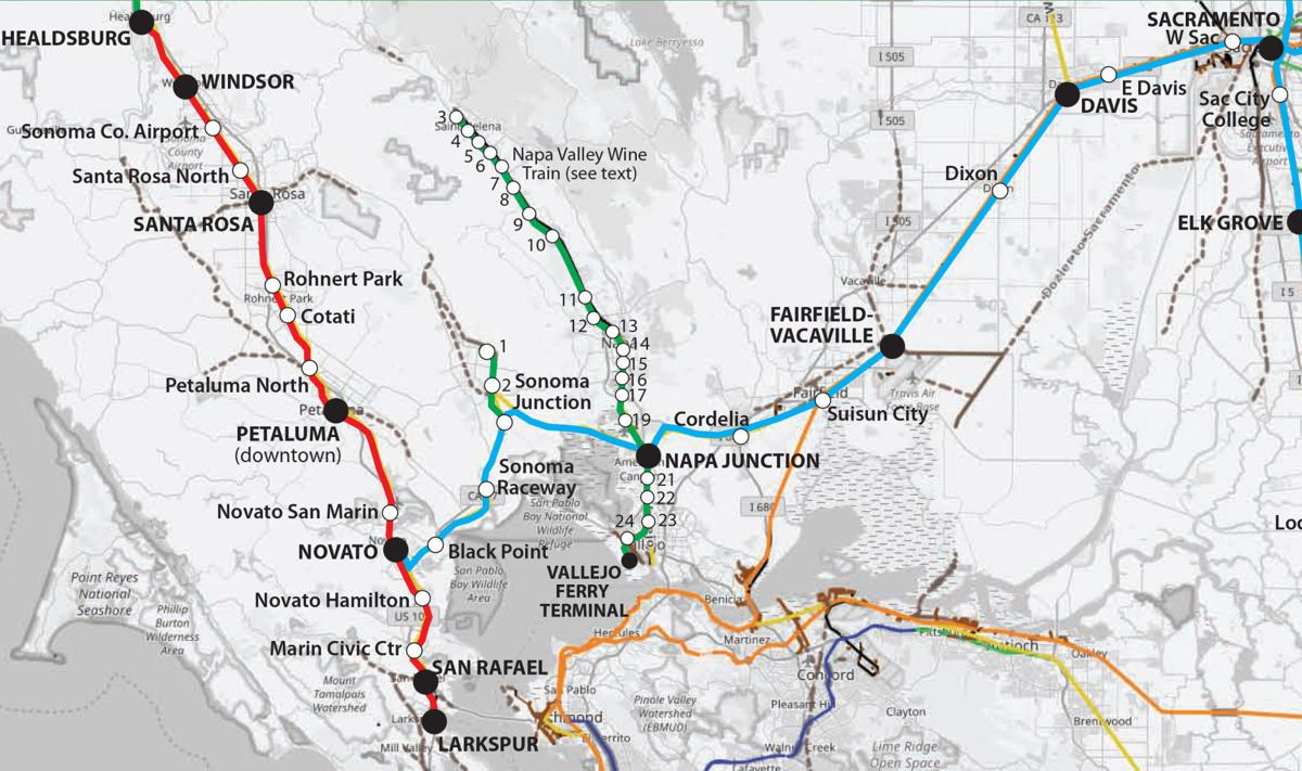 Rail group proposes east-west commuter train line