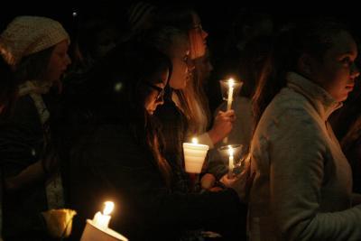 Horn family vigil
