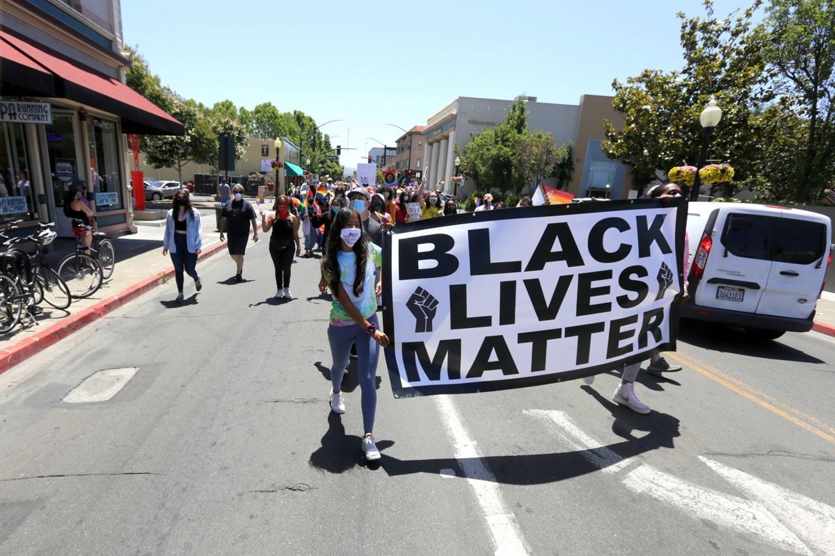 Pride Is a Protest march in Napa