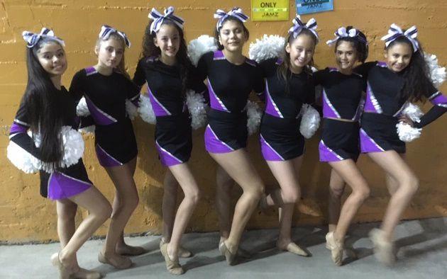 X-Force cheer team