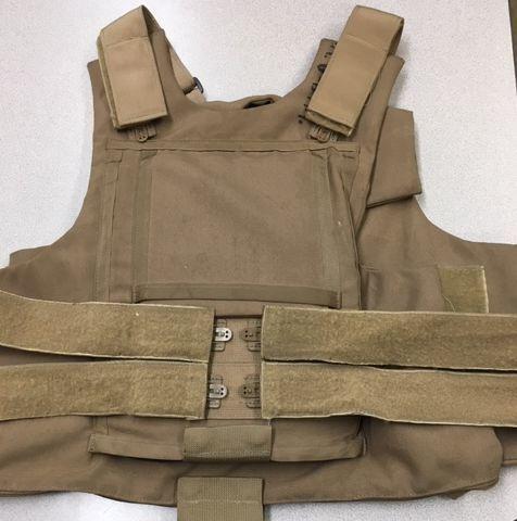 Bulletproof carrier vest
