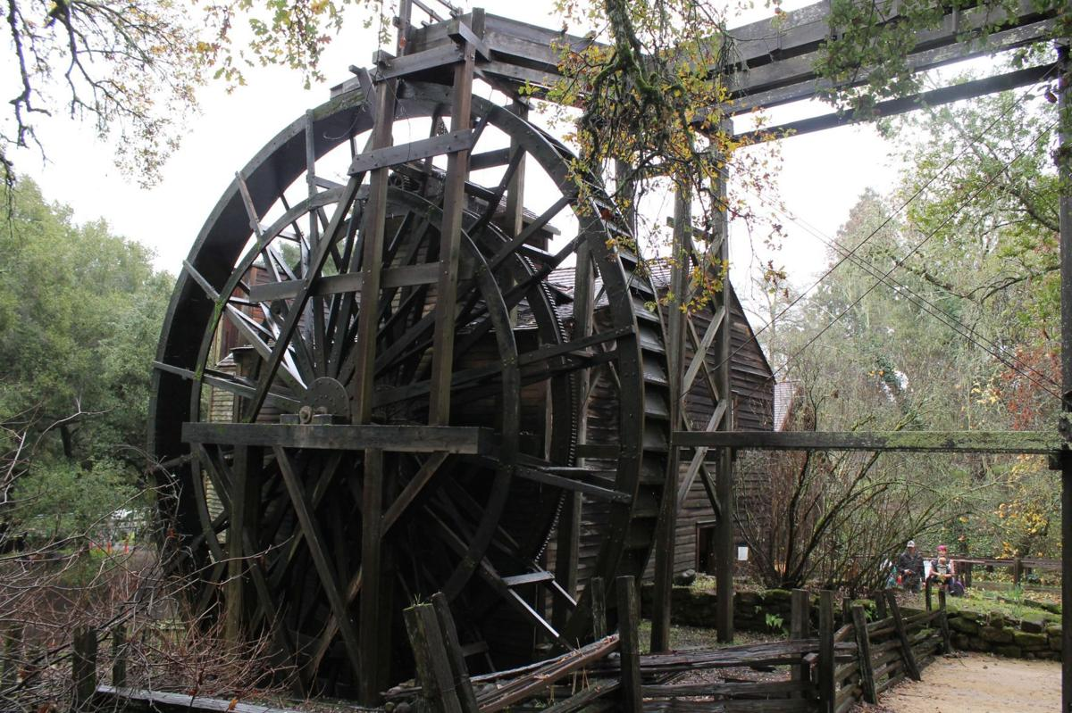 Bale Grist Mill at the Napa Valley State Park