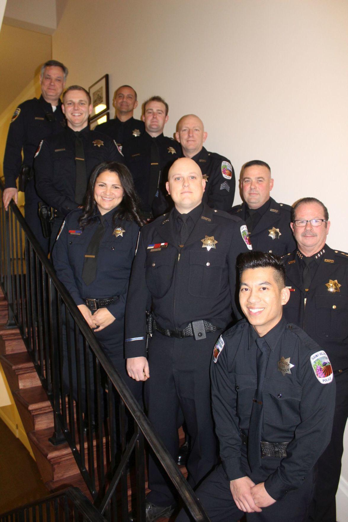St. Helena police