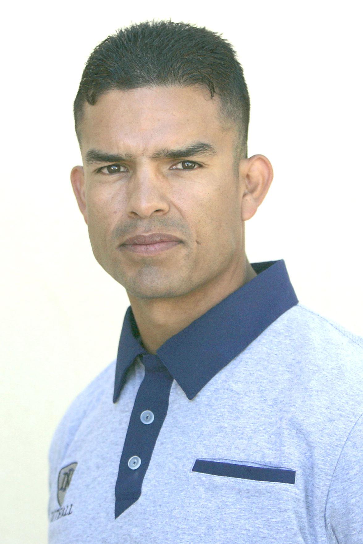 Napa High School head football coach Jesus Martinez