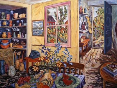 """Helen Berggruen's """"Coming Home"""" art works"""