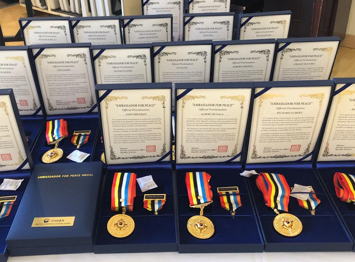 Korean War Ambassador for Peace Medal Presentation Ceremony