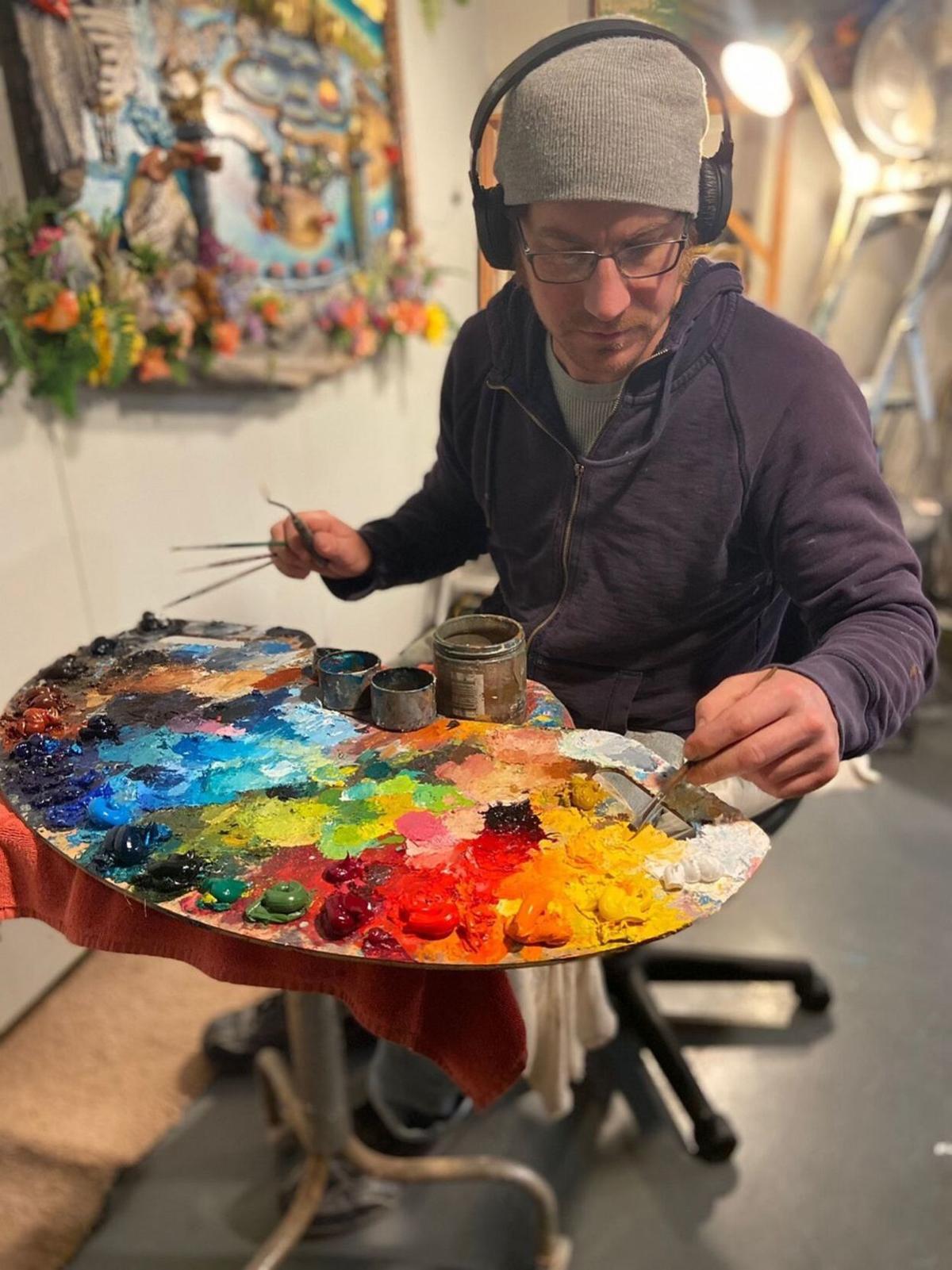 Angwin artist Will Callnan