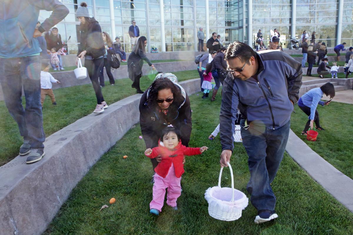Easter egg hunt at Copia