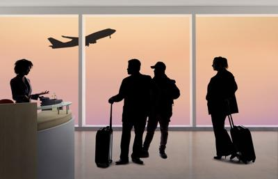 Waiting to fly stock image.