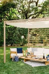 A private cabana at Domaine Chandon