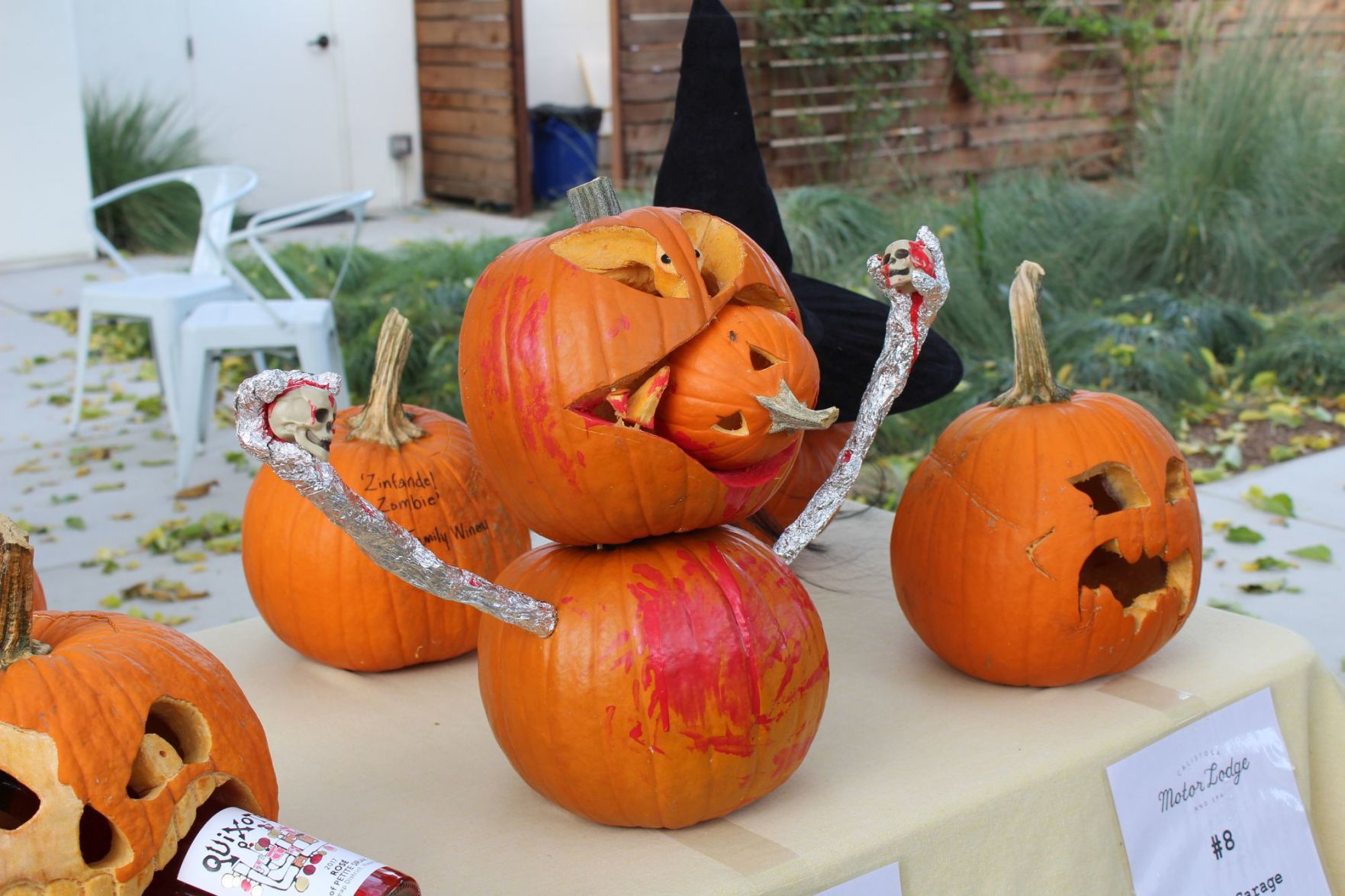 Clash Of The Pumpkins Carving Contest Lifestyles Napavalleyregister Com