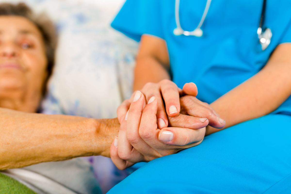 Nurses Helping Elderly