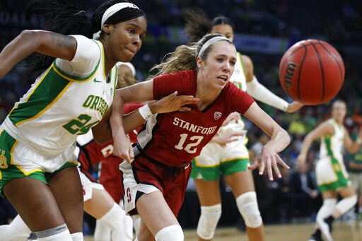 No. 3 Oregon women rout No. 7 Stanford for Pac-12 title