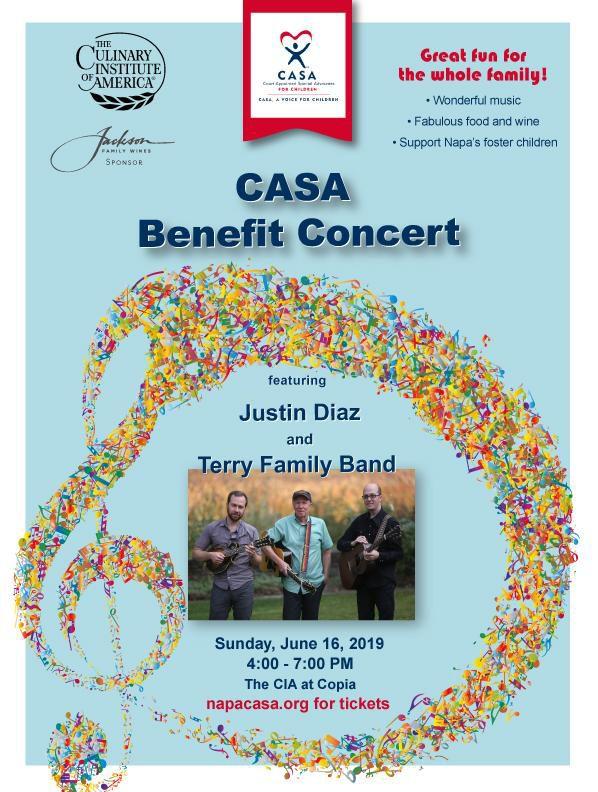 CASA Benefit Concert Poster