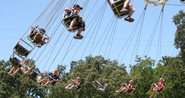 Swinging time at the Napa County Fair