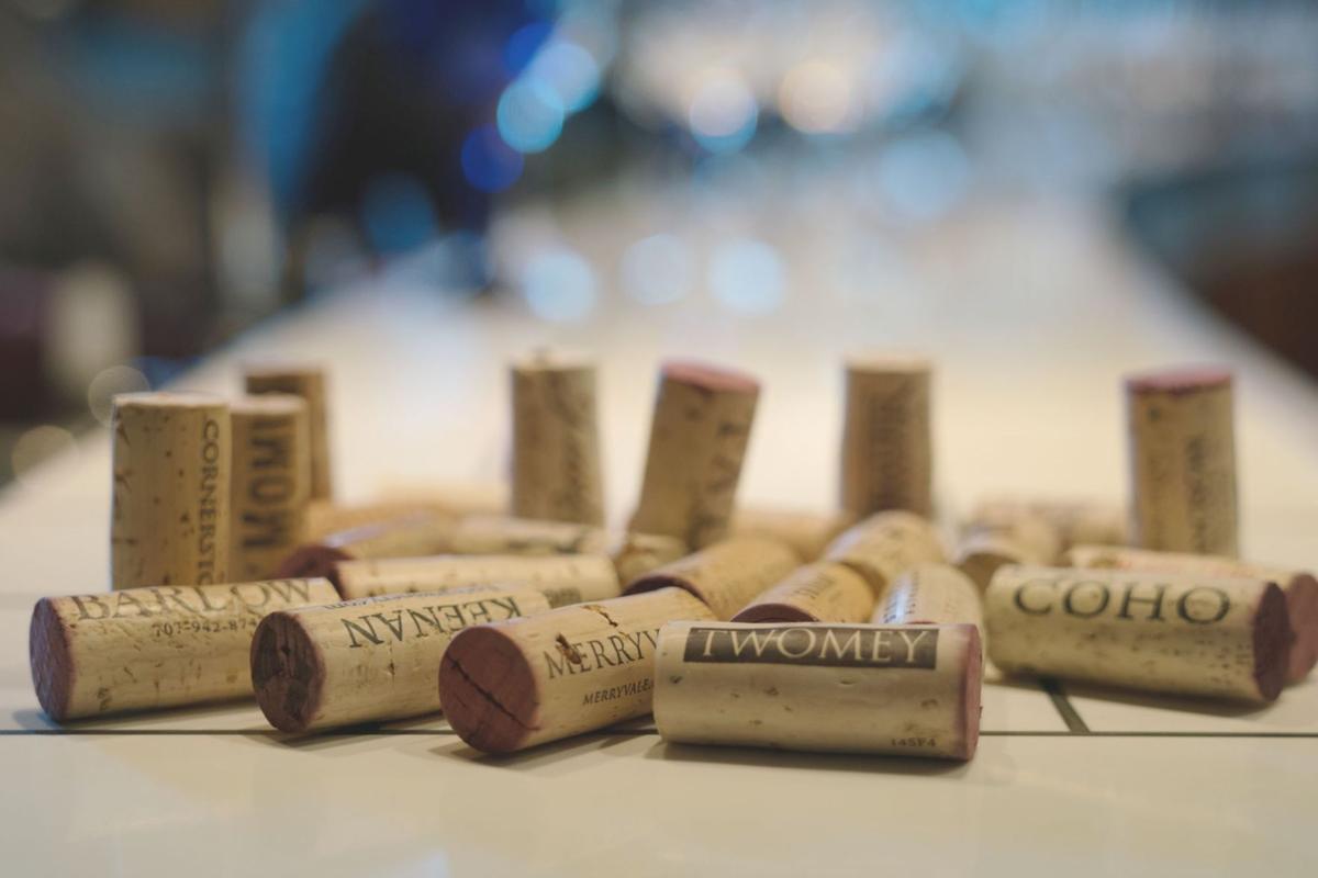 Merlot wine corks