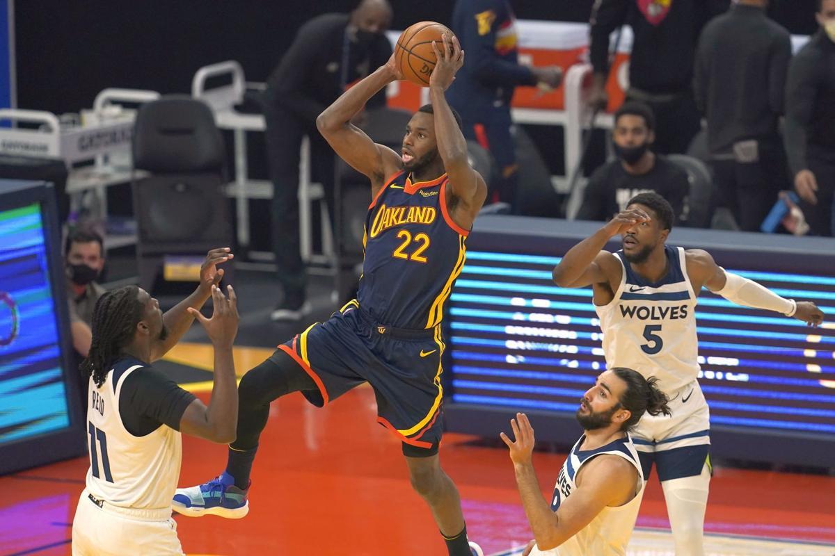 Timberwolves Warriors Basketball