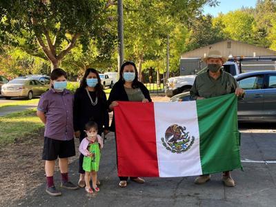 Hispanic Flag Raising