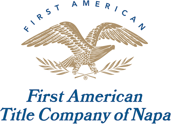 First American Title Company of Napa logo
