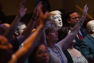 Trump Church Politicking