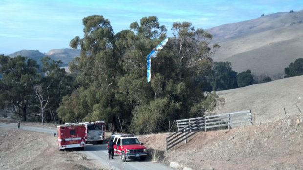 CHP rescues hang glider