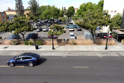 Parking in downtown Napa (copy)
