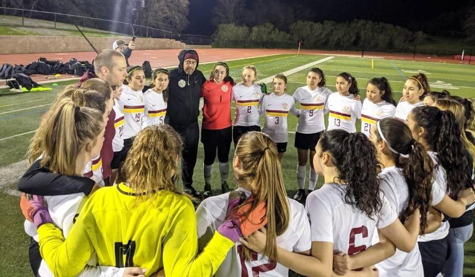 Vintage girls soccer playoffs