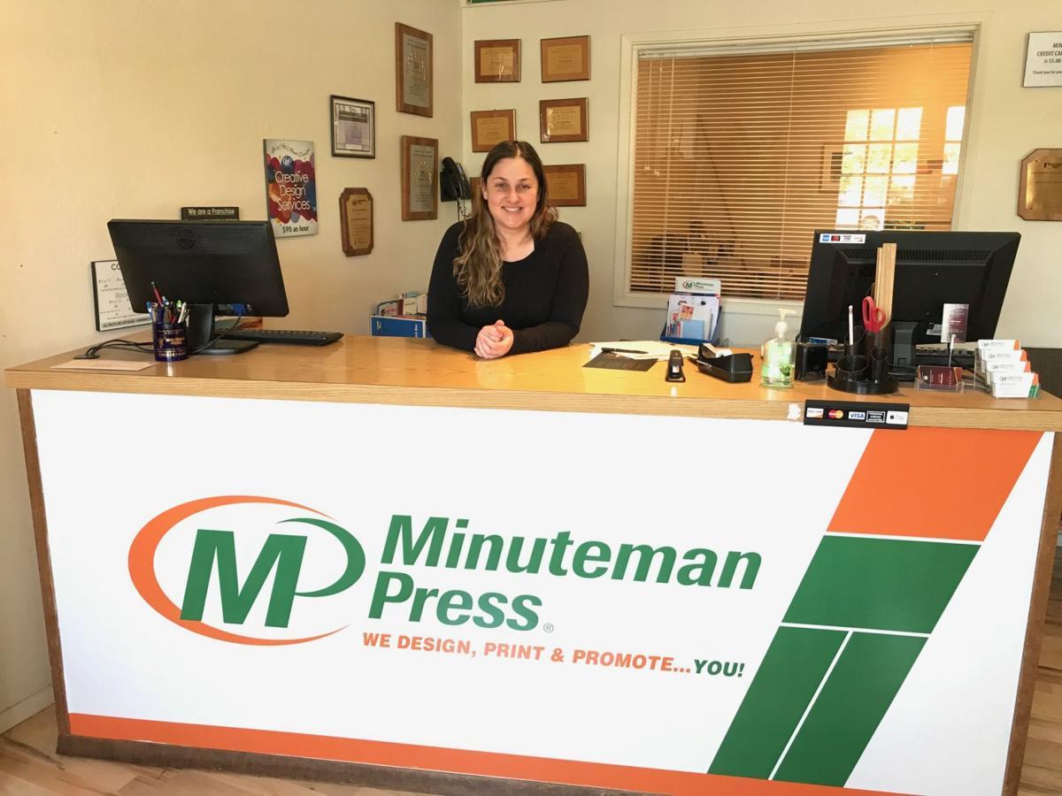 Leigh Krieger, owner of Napa's Minuteman Press