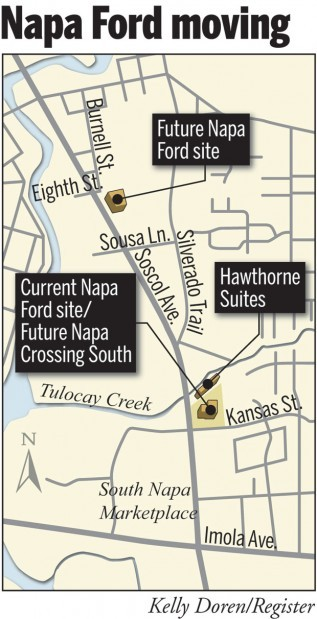 Napa Ford moving to new Soscol site