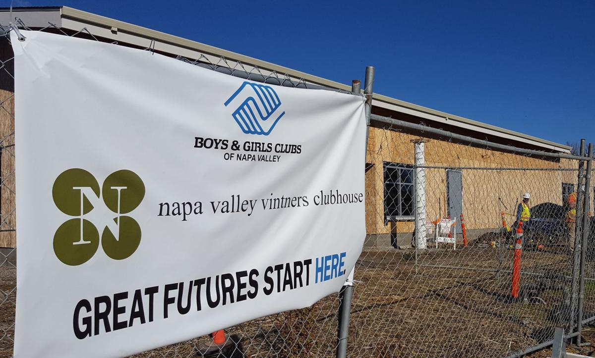 American Canyon Boys and Girls Clubhouse construction