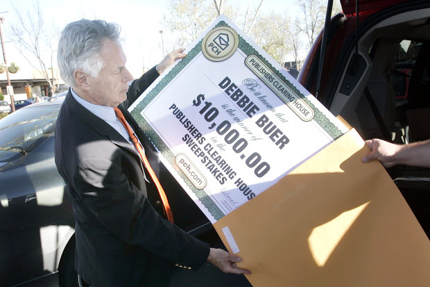 When Publishers Clearing House knocks, what if no one answers