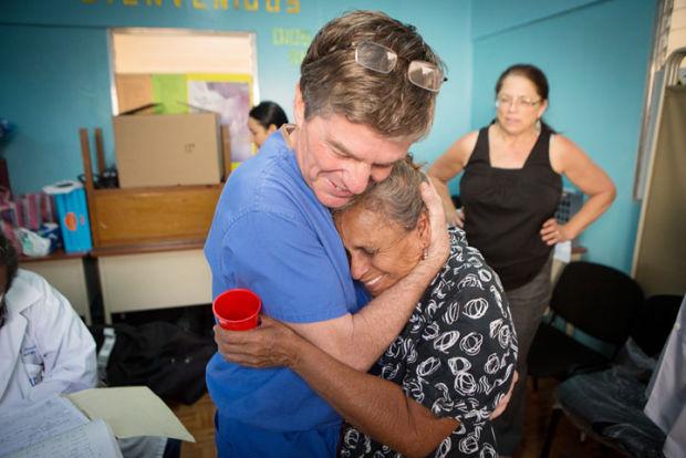 Dr. Jeffrey Brooks in Nicaragua