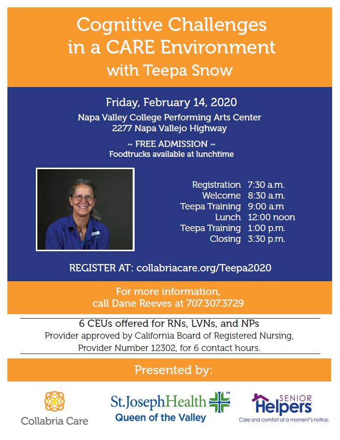 Teepa Snow Flyer