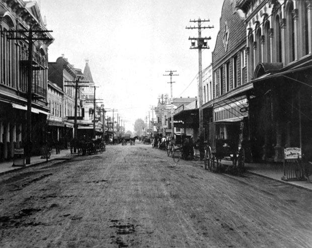 Main Street Napa 1905