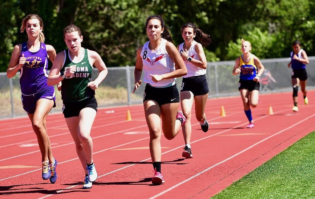 St. Helena High track and field