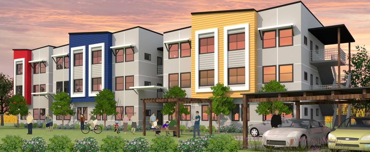 Saint James Place Apartments, Napa